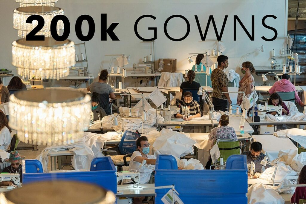 200k gowns