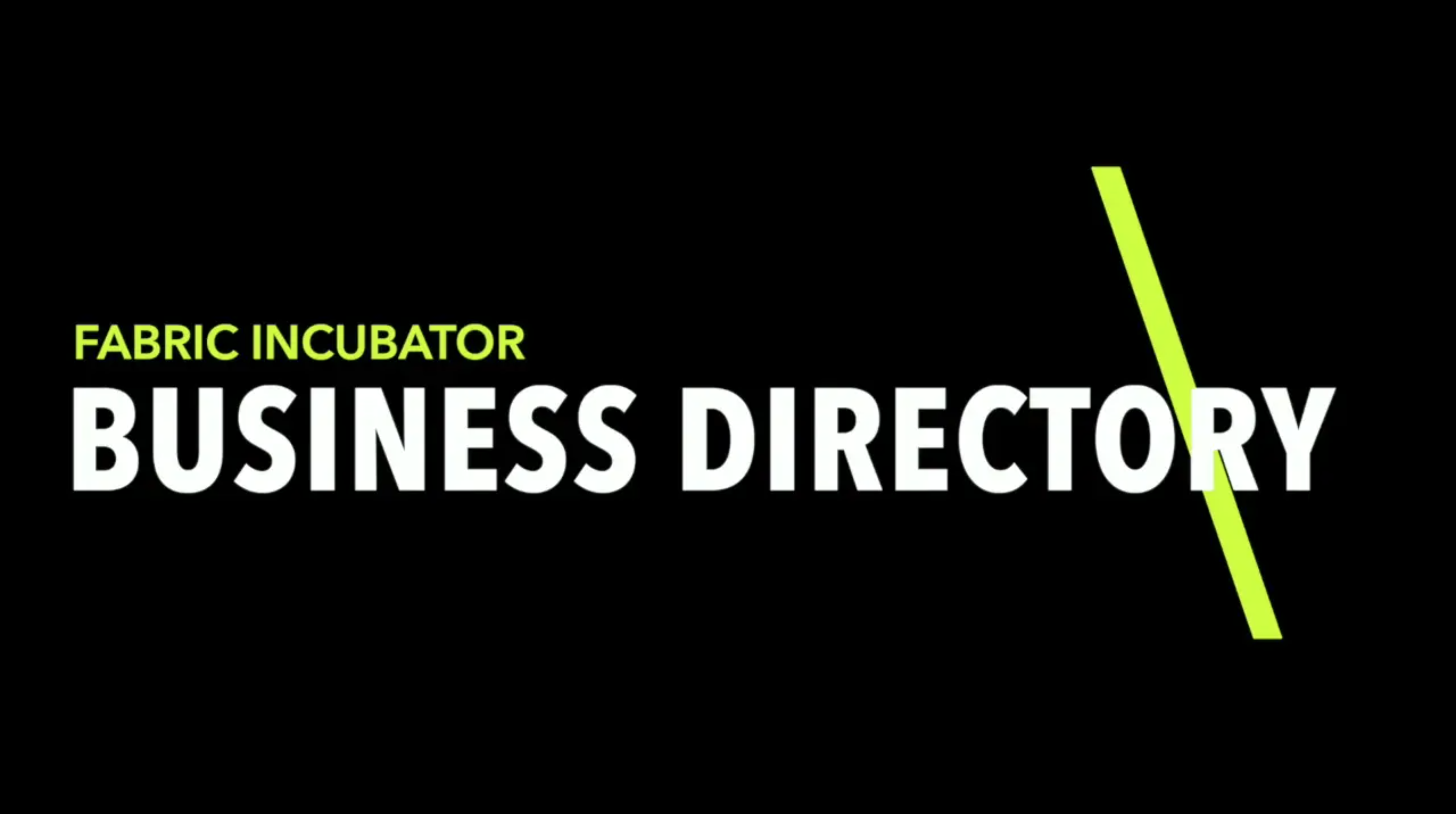 Fashion Business Directory