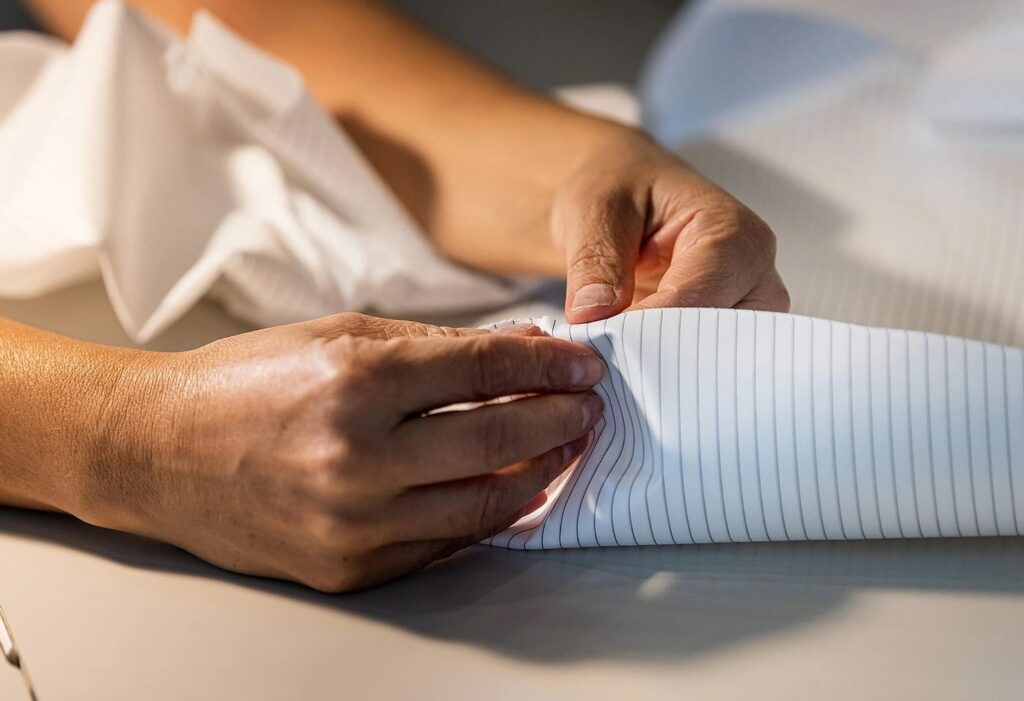 Preparing to Make an Isolation Gown